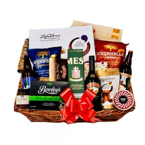 Deluxe Whiskey Hamper